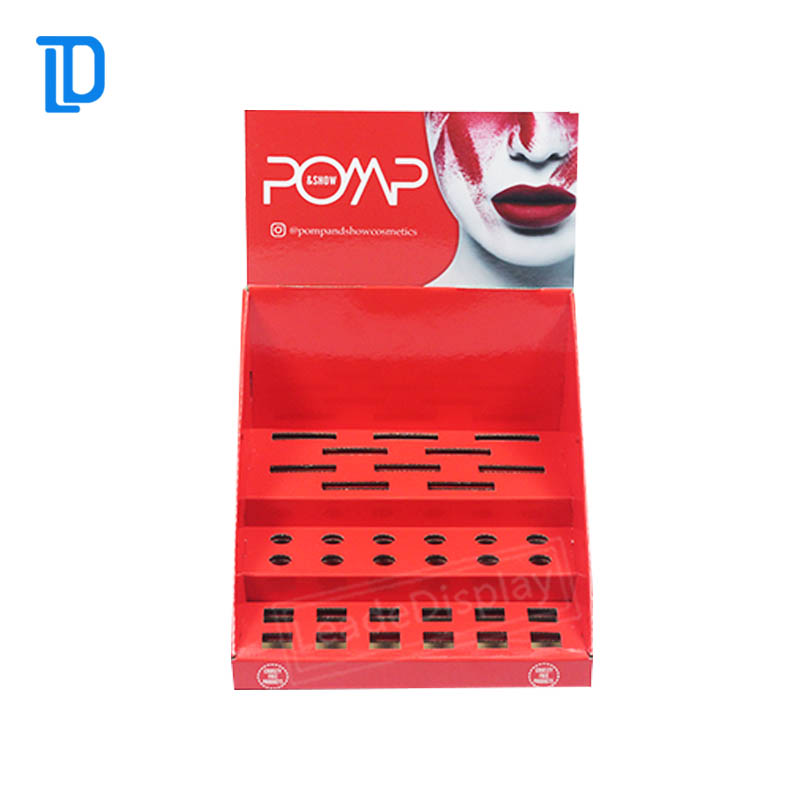 Good Printing Makeup Mac Cosmetic Counter Display Cases Design Display Stand