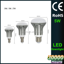 220V E27 5W LED Lamp R63 equal to 50W Incandescent bulb