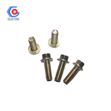 m16 full thread hex flange bolt