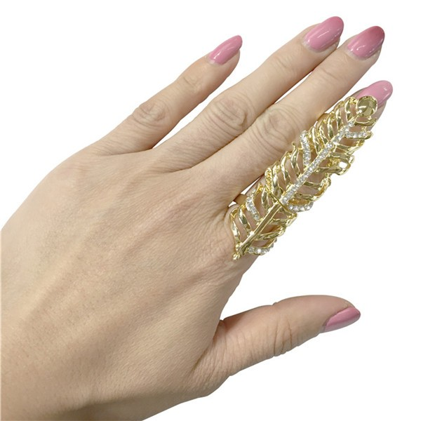 9 Styles Full Finger Joint Long Armour Knuckle Double Ring Bling Punk Party Jewellery #790-#848