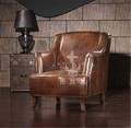 Classic button tufted single bedroom armchair K627
