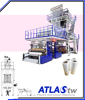ATLAS Oscillating Tower Multiple layer blown film machine