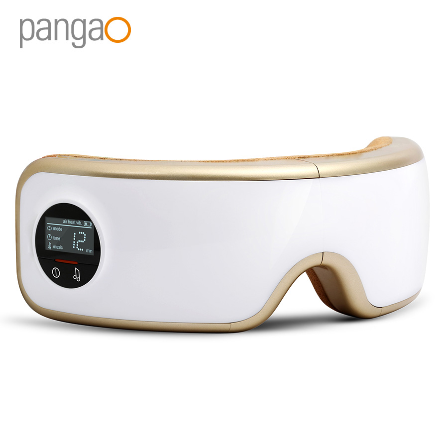 OEM/Wholesale Pangao 180 Degree Full Folding Eye <strong>Massager</strong> for Eye Bags And Dark Circles