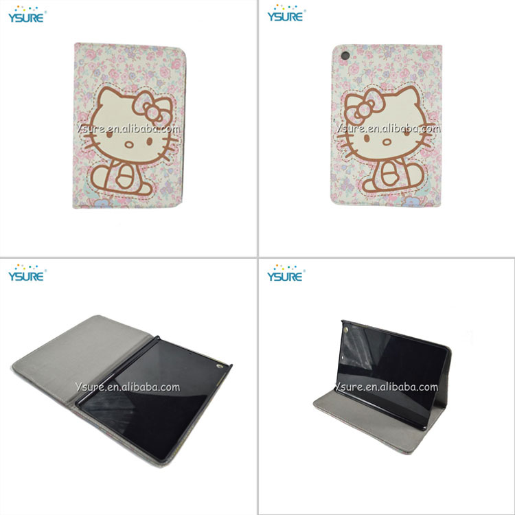 cute hello kitty leather case cover for ipad air