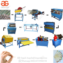 India Raw Material Bbq Skewer Round Agarbatti Incense Stick Production Line Automatic Bamboo Toothpick Making Machine For Sale