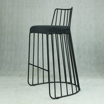 Classic Solid Steel Wire Barstool M288