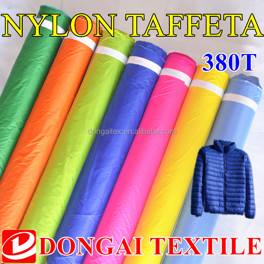 380T <strong>nylon</strong> fabric 20D cheap <strong>nylon</strong> cloth