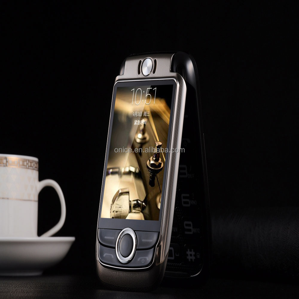 2.6 inch V998 big button flip phone 2000mah low price flip mobile phone with bluetooth vibration FM