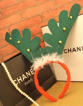 Christmas Party Decor Decorating Reindeer Antlers Headband