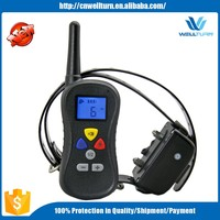Remote Dog Trainer Shock Waterproof Rechargeable 400M Two Dog Training Collar Vibration Long Range