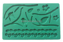 FD-003 POP silicone fondant mold for edible cake decoration