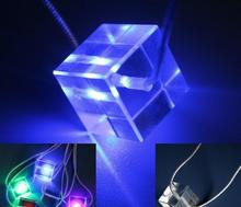 New Hot christmas Mini LED Glow Necklace
