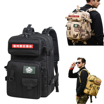 USA 50L Bulletproof Backpack american military back pack/tactical assault backpack army rucksack backpack 40L JM-B033