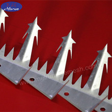 Barbed nail/Anti wall climb steel & plastic bird spike