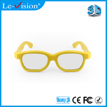 Customized circular polarized 3D glasses used for passive cinema 3D system RealD 3D glasses