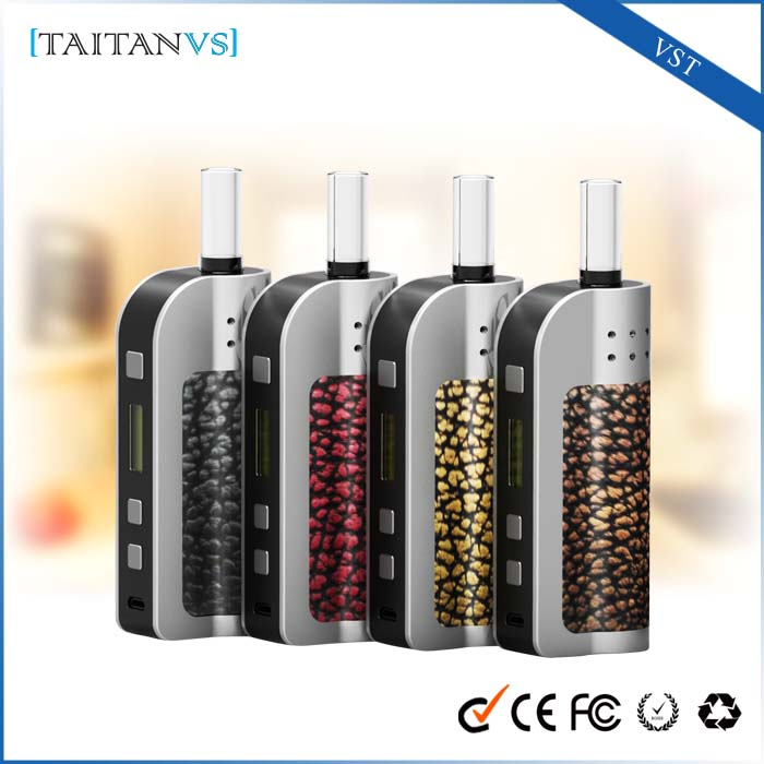 2016 high good feedback china smoking herbal vaporizer luxurious electronic cigarette