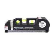 green cheap laser level With measuring tape
