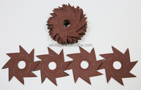 8 Leaves Flower Abrasive Sanding Disc