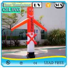 Hottest movable inflatable long tube model for event