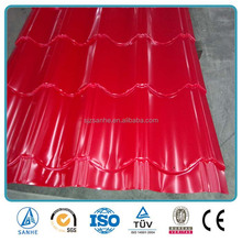 thickness 0.5mm color stone coated steel roofing shingles