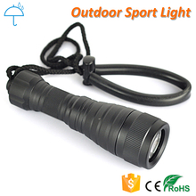 IPX-8 200m Underwater XM-L2 Powerful Waterproof LED Diving Flashlight