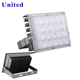 outdoor 220 volt led flood light rgbw flood light lamp 50w