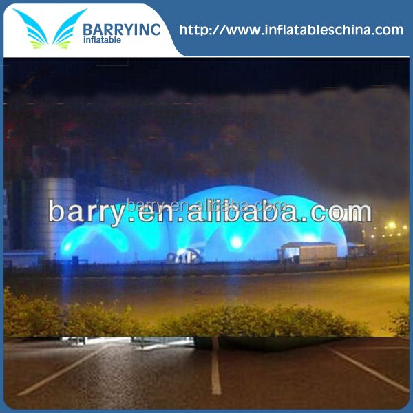 hottest inflatable tent air structure , giant inflatable lighting building tent