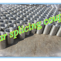 Carbon Steel Reinforcing Rebar Splicing Coupler