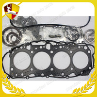 Diesel engine motor BARE cylinder head FULL GASKET KIT toyota used 1KZ for Toyota Hilux Hiace 1KZ