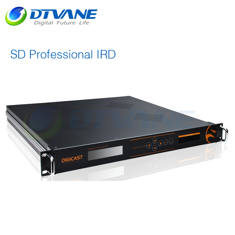 DMB-9020 DVB T2 IRD / Professional hd dvb t2 ird with Tuner + IP + 2*TS in