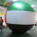 Custom Inflatable Nation Ball Giant Inflatable UAE Balloon For National Day