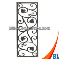 2012 china manufacturer metal door inserts design