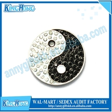 Birthday gifts for guests glittering metal magnetic golf ball marker