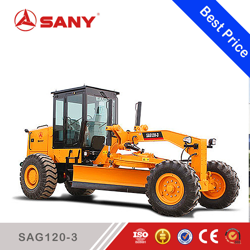 Sany SAG120-3 Motor Grader for Sale Small Motor Grader For Sale with ISO Certificate
