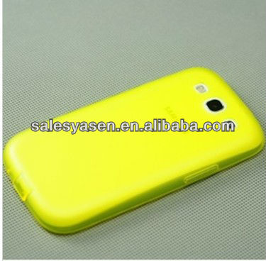 Soft TPU case for samsung Galaxy S3 i9300 Cover