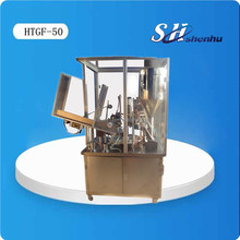 Fully Automatic Plastic Tube Filling and Sealing Machine With Glass Cover