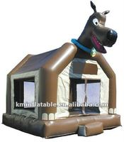 Scooby Doo inflatable bouncer