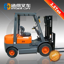 best quality forklift with tail lift light