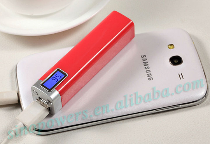 handy power bank charger 2200 cell phone power bank power bank digital display
