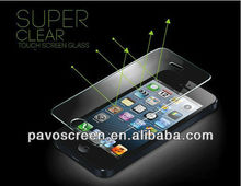 Mirror/High transparent glass screen protector for iphone 5