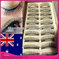 2013 NEWEST !!! natural color top quality real 100% individual eyelash extensions FOR SALE