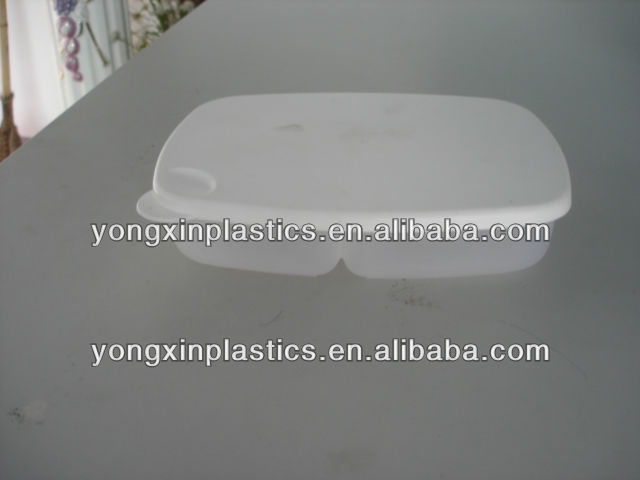 vented plastic food container for family food storage container