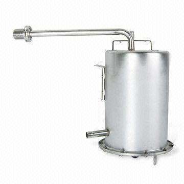 Hot and cold water dispenser spare parts stainless steel water cooling tank