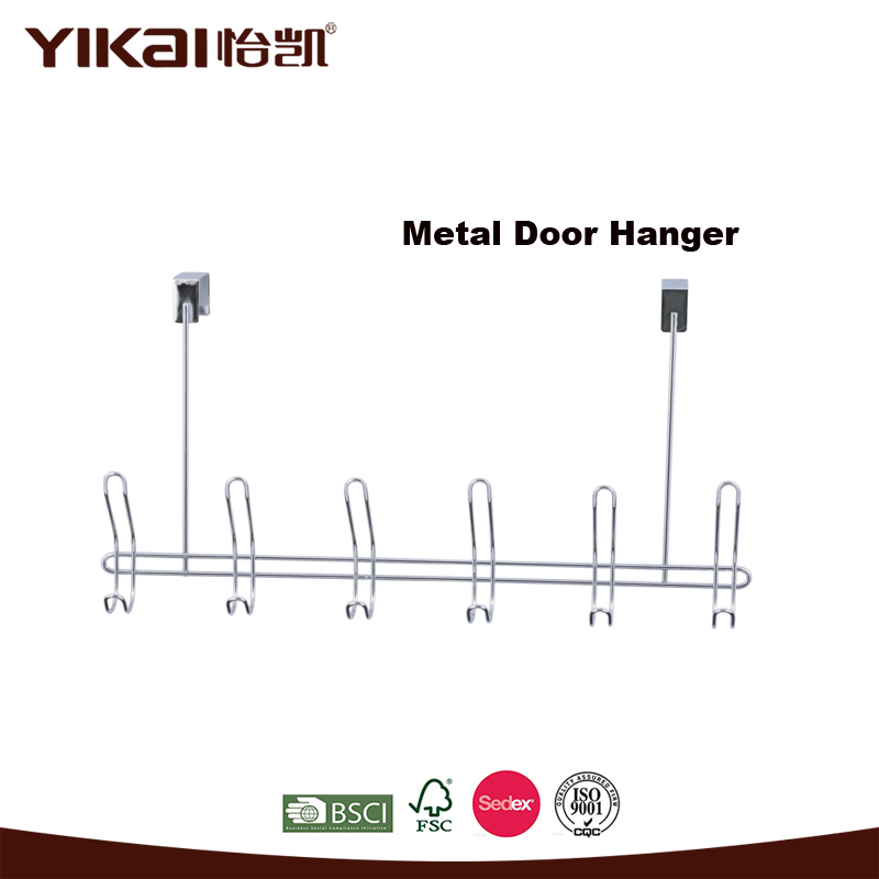 YIKAI funny single over metal door hook