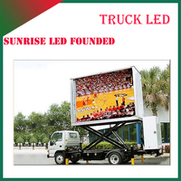 latest products in market DIP P10 outdoor advertising truck/trailer led display screen video wall sign
