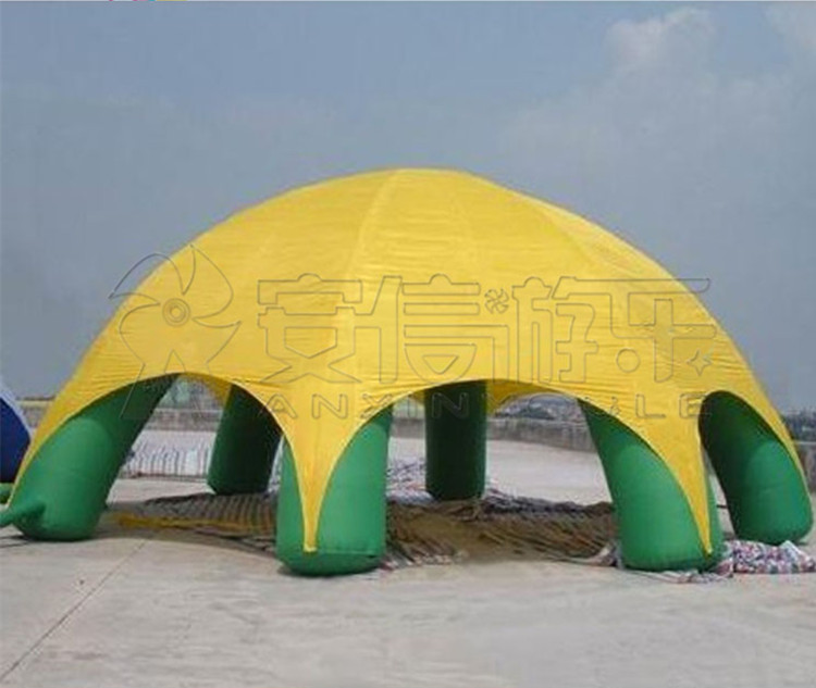 Cheap Yellow Green Advertising Balloons Inflatable Tents Dome Tents