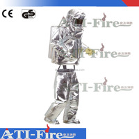 Aluminium Fire Fighting Protection Lined Approach Coat - 3 Layers & 1 Layers