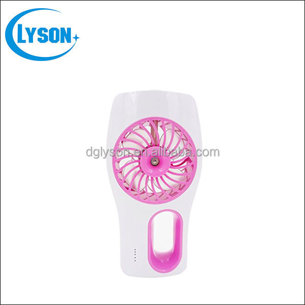 Cool Mist Humidifier Portable Rechargeable USB Mini Cooling Fan