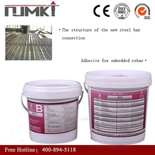 Multifunctional Concrete repairing material structural anchor adhesive for planting steel in wall with low price