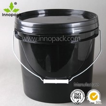 5L food grade biodegradable plastic container with lid